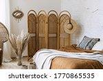 Comfort Bedroom In Boho Style...