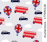 english transport background | Shutterstock . vector #177090128