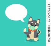 cartoon character shiba inu dog ...   Shutterstock .eps vector #1770971135