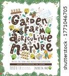 garden farm agriculture nature  ...   Shutterstock .eps vector #1771046705