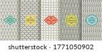 set of seamless geometric...   Shutterstock .eps vector #1771050902