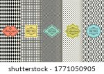 set of seamless geometric... | Shutterstock .eps vector #1771050905