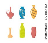 A Collection Of Ceramic Vases....