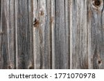 Gray Wooden Background From...