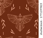 seamless pattern with doodle... | Shutterstock .eps vector #1771197815