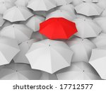 umbrellas | Shutterstock . vector #17712577
