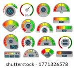 business credit score vector... | Shutterstock .eps vector #1771326578