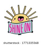 shine on hand drawn vector... | Shutterstock .eps vector #1771335368