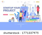 startup your project flat...