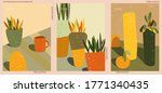 set of three abstract... | Shutterstock .eps vector #1771340435