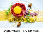 Traditional Beef Tartar Served...