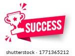 vector illustration success... | Shutterstock .eps vector #1771365212
