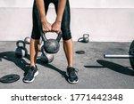 Kettlebell Weightlifting...
