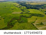 Aerial View Of Meander Of The...