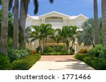 entrance to an expensive home | Shutterstock . vector #1771466