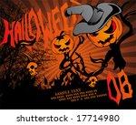 halloween poster 3   Shutterstock .eps vector #17714980