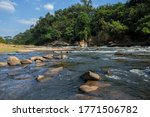 Mountain River With Stones....