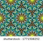 ornamental mandala design... | Shutterstock .eps vector #1771508252