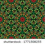 ornamental mandala design... | Shutterstock .eps vector #1771508255