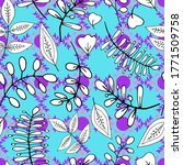 abstract floral pattern of... | Shutterstock .eps vector #1771509758