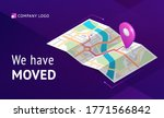 we have moved banner.... | Shutterstock .eps vector #1771566842