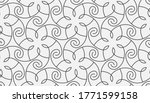 seamless linear pattern with... | Shutterstock .eps vector #1771599158