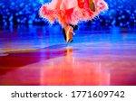 Man And Woman Dancer Latino...