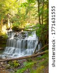 Wagner Falls in the Upper Peninsula