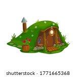 Fairy House Of Dwarf Gnome  El...