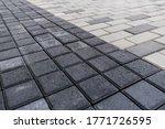 Grey Black Smooth Rows Of...