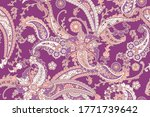 seamless trendy background with ... | Shutterstock .eps vector #1771739642
