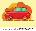 icon car color red illustrator | Shutterstock .eps vector #1771746395