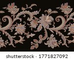 Classic Paisley And Fine Lace...