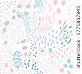 vector organic seamless... | Shutterstock .eps vector #1771857845