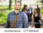 portrait of confident male... | Shutterstock . vector #177189665
