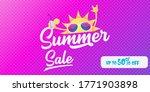 summer sale horizontal web... | Shutterstock .eps vector #1771903898