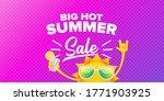 summer sale horizontal web... | Shutterstock .eps vector #1771903925