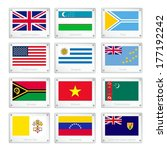 flags of united kingdom ... | Shutterstock .eps vector #177192242