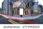 blank mock up of vertical... | Shutterstock . vector #1771952015