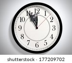 businessman trying to stop time.... | Shutterstock . vector #177209702