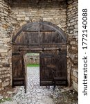 The Gate Of The Medieval Castl...
