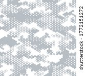 seamless camouflage pattern.... | Shutterstock .eps vector #1772151272