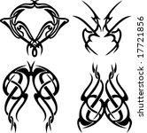 tribal tattoos   Shutterstock .eps vector #17721856