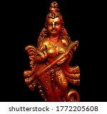 Statue Of Hindu Goddess Of...