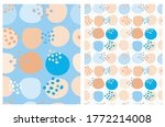 cute hand drawn abstract... | Shutterstock .eps vector #1772214008