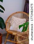 Rattan Chair With Cushion ...