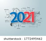 tags label 2021 new year text... | Shutterstock .eps vector #1772495462