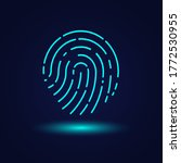 touch id. fingerprint icon for...