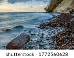 Coast At Chalk Cliffs In The...