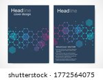 vector templates for brochure... | Shutterstock .eps vector #1772564075